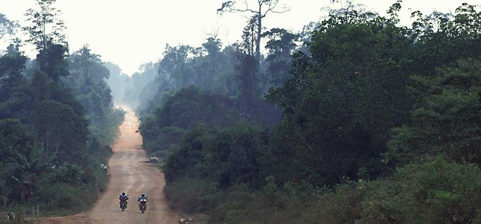 Trans-Borneo Motorcycle Expedition